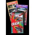 Lot de 3 Crash\'s